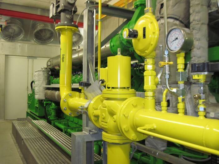 Двигатель на природном газе